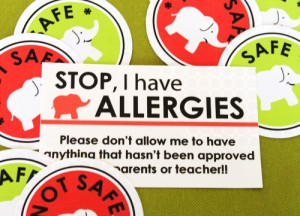 food allergy safety labels