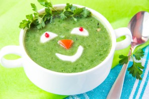 easy green vegetable soup recipes for kids