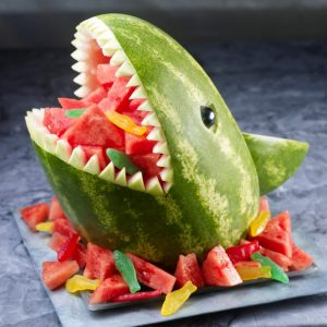 watermelon carving for kids