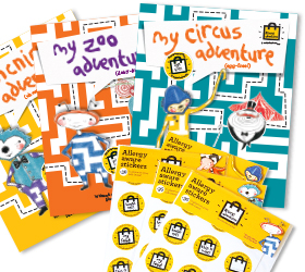allergy adventures fun resources for kids